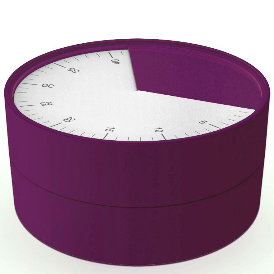 Таймер Joseph Joseph Pie пурпурного цвета