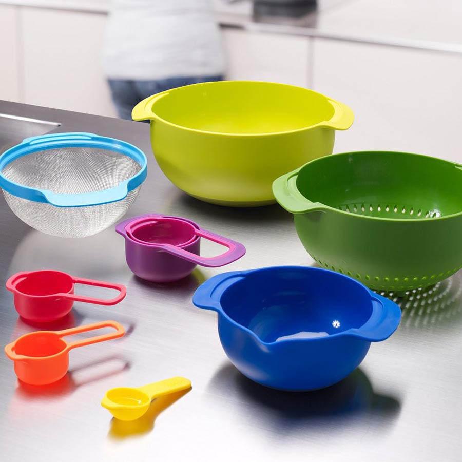 Цветной набор Joseph Joseph Nest кухонной посуды