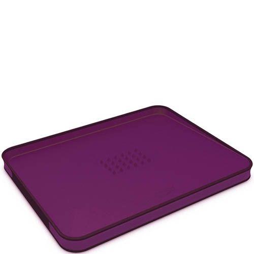 Доска Joseph Joseph Cut&Carve Plus большая пурпурная