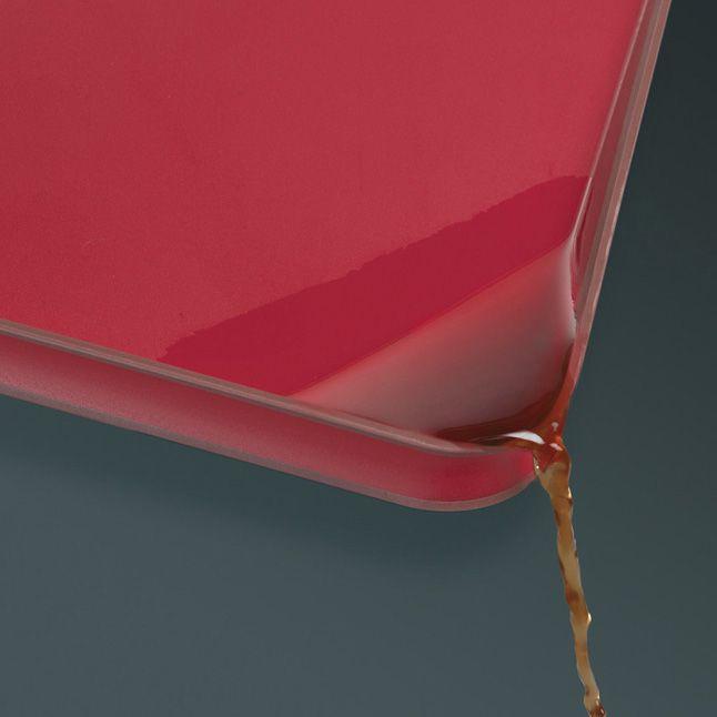 Доска Joseph Joseph Cut&Carve Plus двусторонняя маленькая красная