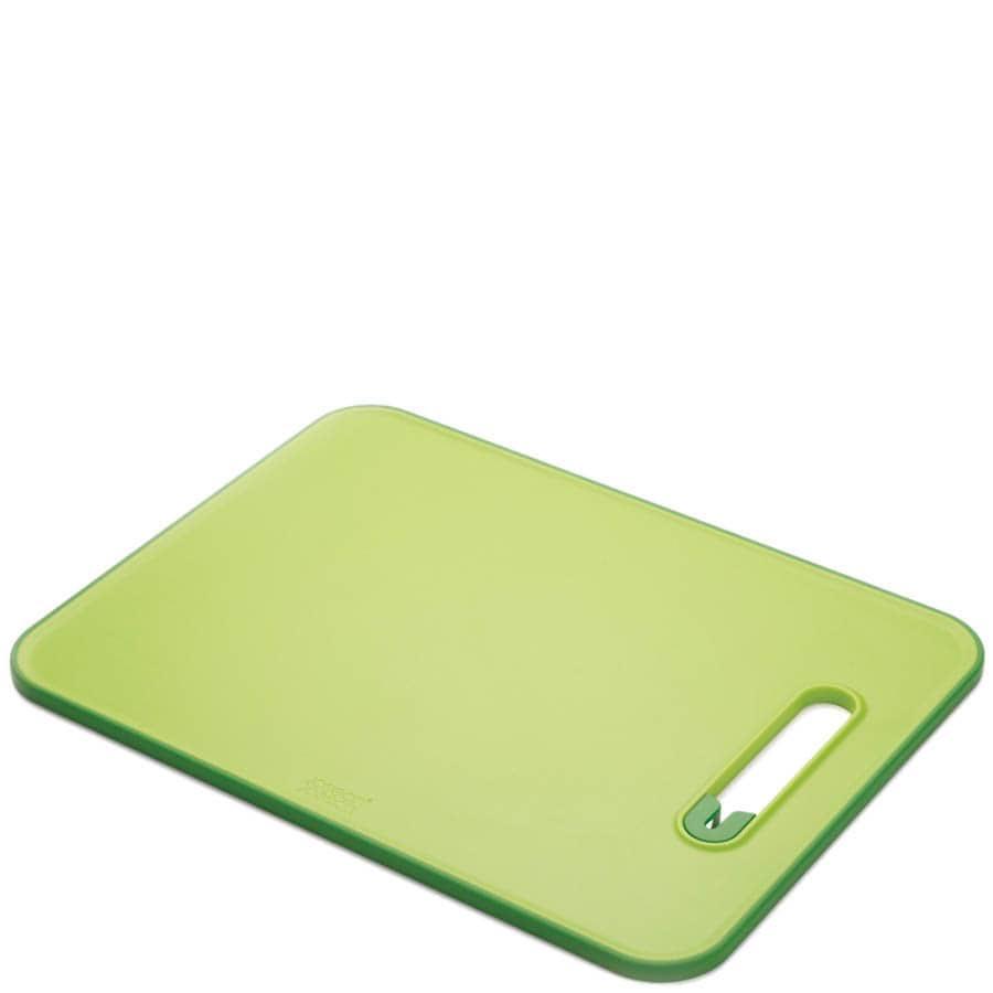 Средняя зеленая доска Joseph Joseph Slice n Sharpen с точилкой