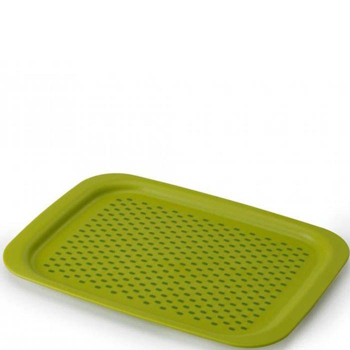 Поднос с нескользящим покрытием Grip Tray Josepf Josepf зеленый