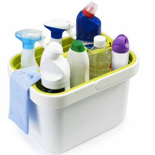 Органайзер для моющих средств Joseph Joseph Clean&Store белый