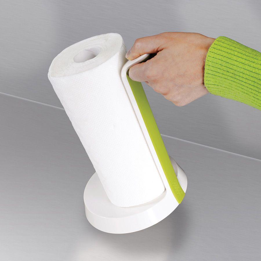 Подставка Joseph Joseph Easy-Tear для бумажных полотенец белая