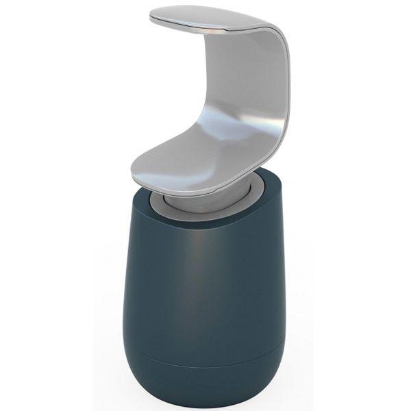 Емкость с дозатором Joseph Joseph C-pump серая для жидкого мыла
