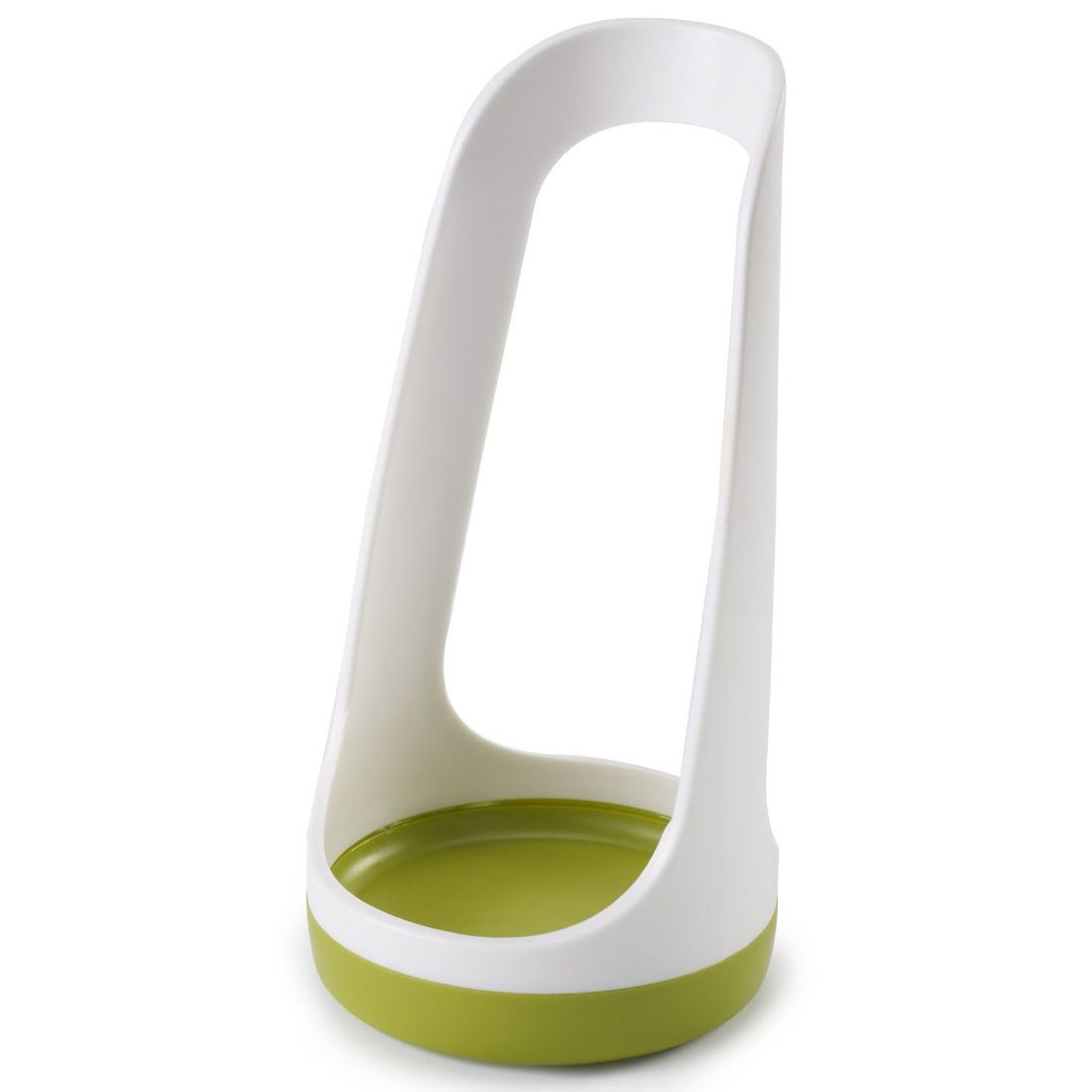 Подставка Joseph Joseph SpoonBase бело-зеленая для ложки или лопатки
