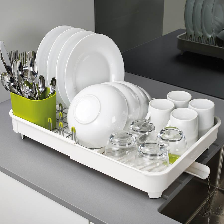 Сушилка белого цвета Joseph Joseph Extend для посуды