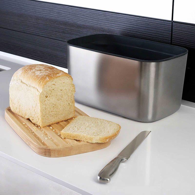 Хлебница с доской Joseph 100 Collection металлическая