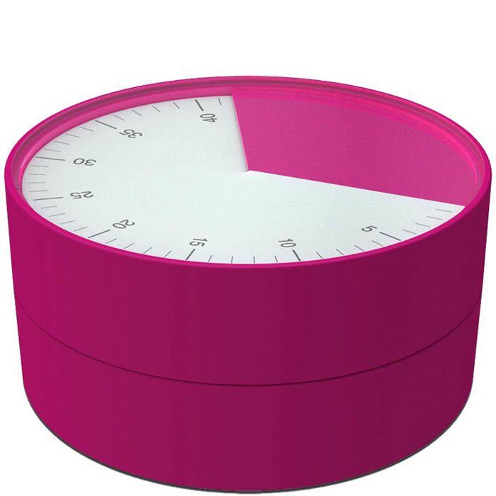 Таймер Joseph Joseph Pie розового цвета