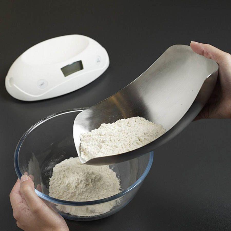 Весы до 5 килограмм Joseph Joseph Shell металлические