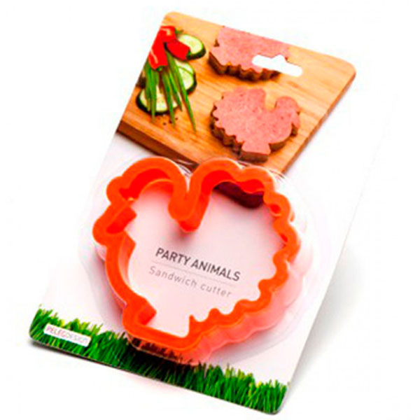 Форма для бутербродов Peleg Design Turkey Party Animals
