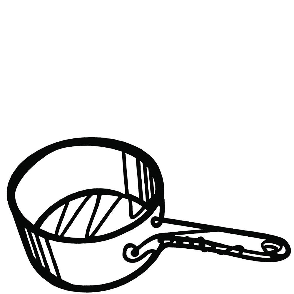 Подставка под горячее Peleg Design Сковорода глубокая