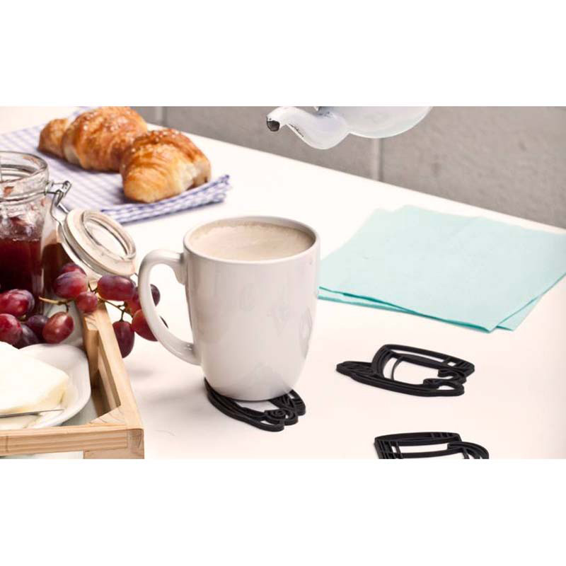 Набор подставок под напитки Peleg Design Sketch Coasters 4 шт