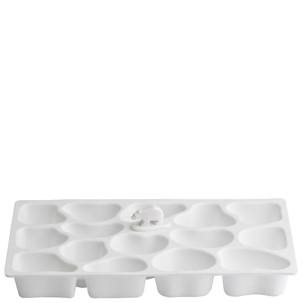 Форма для льда Qualy Polar Ice Tray белого цвета