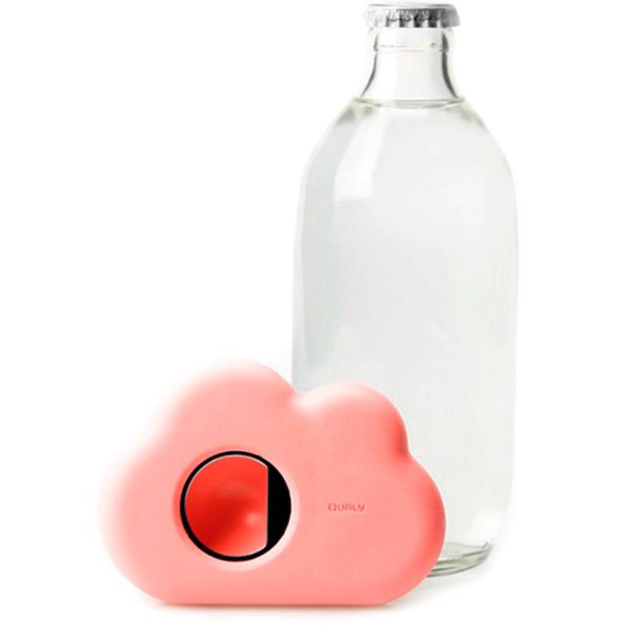 Открывашка для бутылки Qualy Cloud розовая