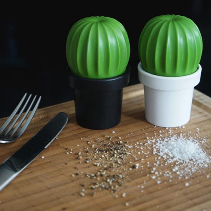Мельница для соли или перца Qualy Tasty Cactus