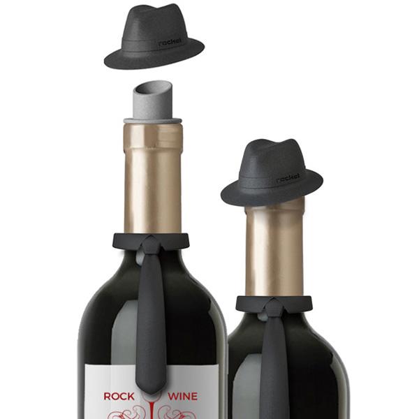 Набор для вина Rocket Frankie галстук с шляпой
