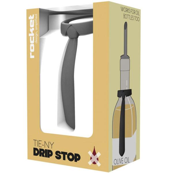 Кольцо антикапля для бутылки Rocket Tie-ny в виде галстука