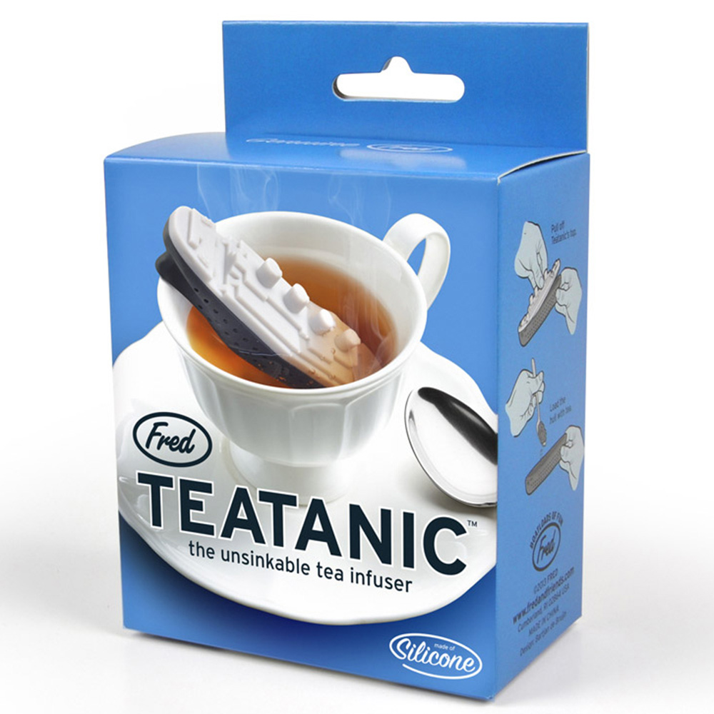 Заварник для чая Fred and Friends в виде Титаника