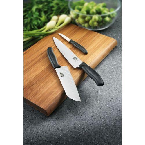 Шеф-нож Victorinox SwissClassic с широким лезвием длиной 22 см