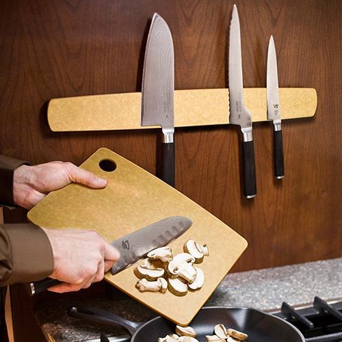 Доска разделочная Epicurean Kitchen бежевого цвета 30,5х22,8см , фото