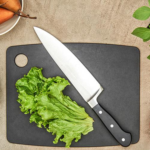 Доска разделочная Epicurean Kitchen серого цвета 38х28см, фото