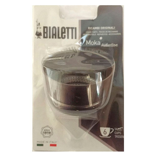 Воронка для кофеварок Bialetti Moka Induction (6 чашки), фото