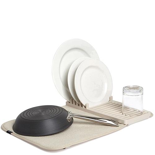 Бежевая сушилка для посуды Umbra Udry Mini, фото