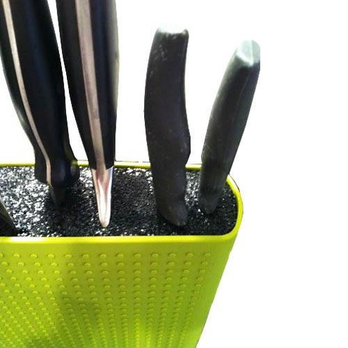 Блок для ножей Bodum Bistro зеленая, фото