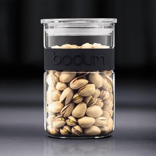 Банка для продуктов Bodum Presso черная 1 л, фото