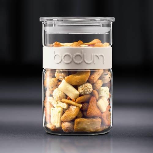 Банка для продуктов Bodum Presso белая 1 л, фото