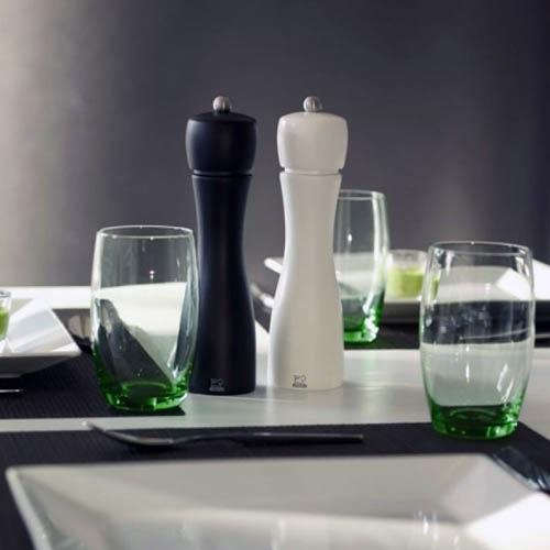 Набор мельниц для соли и переца Peugeot Tahiti 20 см черно-белый, фото