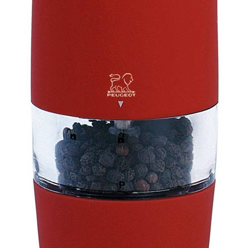 Мельница для перца Peugeot Zest электрическая 18 см красная, фото