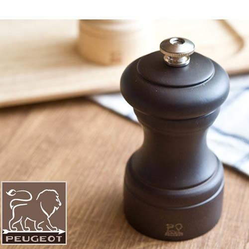 Компактная мельница для перца Peugeot Bistro темно-коричневая, фото
