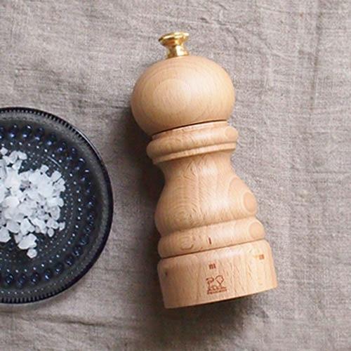 Мельница для соли Peugeot Paris U Natural из бука 12 см, фото