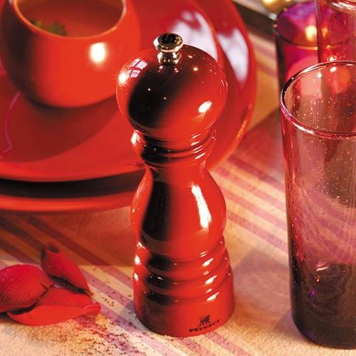 Мельница для соли Peugeot Paris U 22 см темно-красная, фото