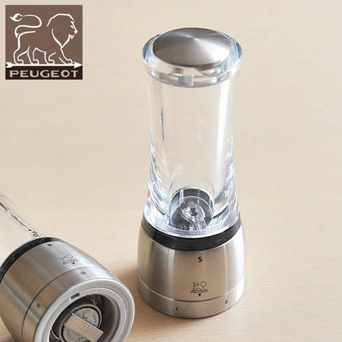 Мельница для соли Peugeot Daman U 16 см прозрачная, фото