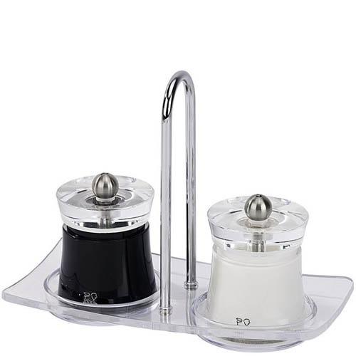 Мельница для перца Peugeot Bali черная 8 см, фото