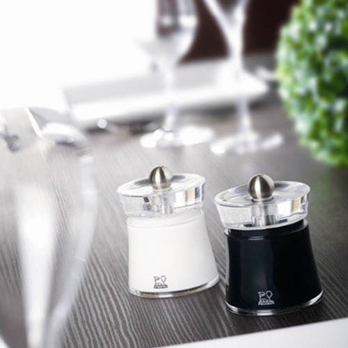 Мельница для соли Peugeot Bali белая 8 см, фото