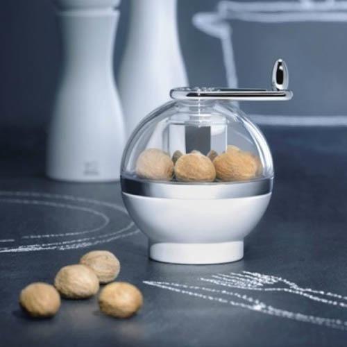 Мельница Peugeot Amboine белая для помола мускатного ореха, фото