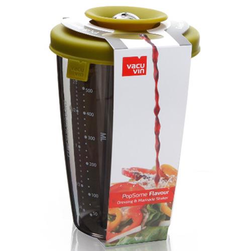 Шейкер для соусов Vacu Vin PopSome & Shaker 0,6 л, фото