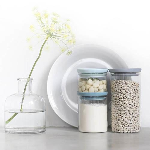 Набор стеклянных емкостей Brabantia из 3 банок, фото