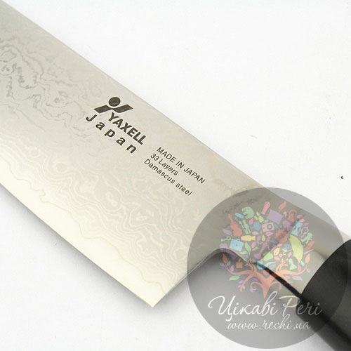 Нож RAN из дамасской стали для шинковки, фото