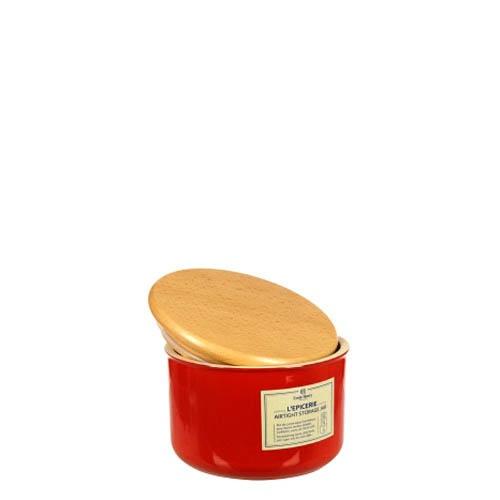 Емкость для хранения Emile Henry Natural Chic Grenade 1 л керамическая с крышкой, фото