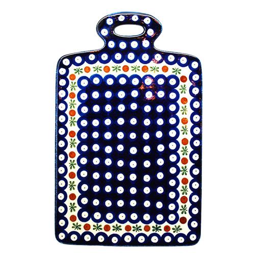 Доска разделочная Ceramika Artystyczna Волшебная синева, фото