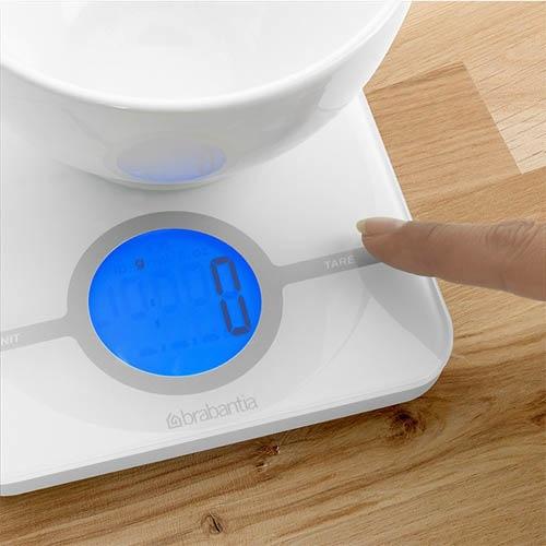 Весы для кухни Brabantia белые, фото