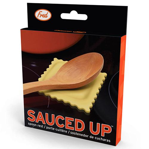 Подставка для ложки Fred and Friends Sauced Up, фото