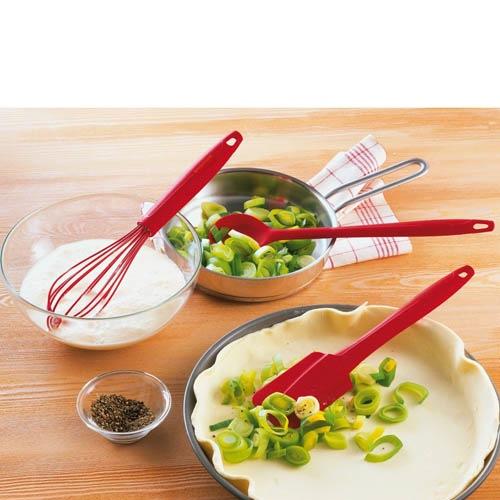 Ложка Kaiser Backform Kaiserflex красная кухонная, фото