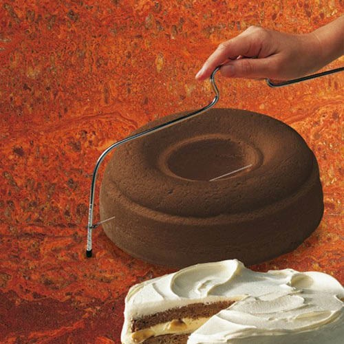 Делитель для торта Kaiser Backform Patisserie стальной 38 см, фото