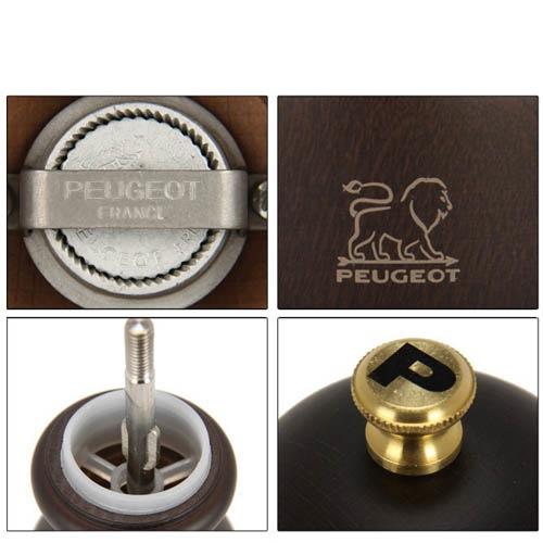 Мельница для перца Peugeot Paris 12 см темно-коричневая из бука, фото